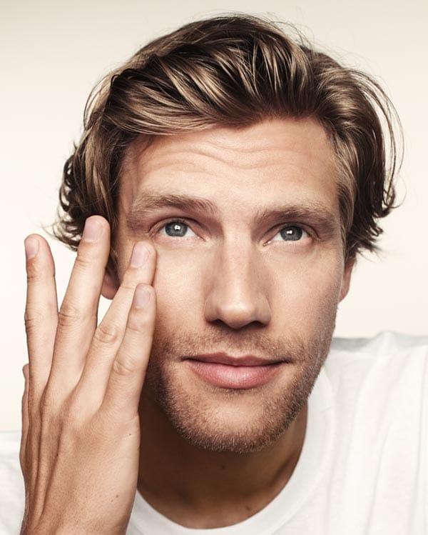 men's healthy skin care