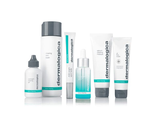 full active clearing for men's healthy skin care