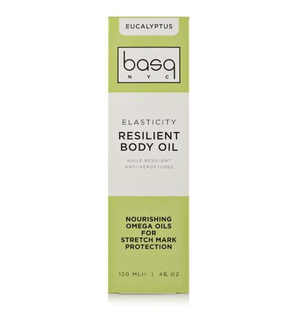 BASQ Resilient Body Oil Eucalyptus