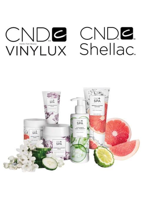 CND product range