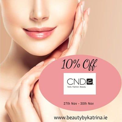 10% off CND sale