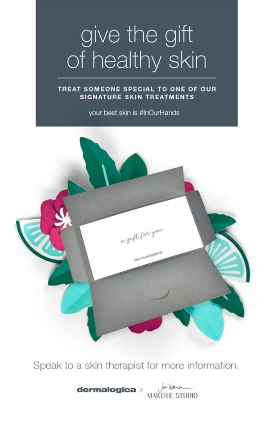 Dermalogica gift vouchers