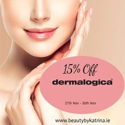 15% off Dermalogica sale